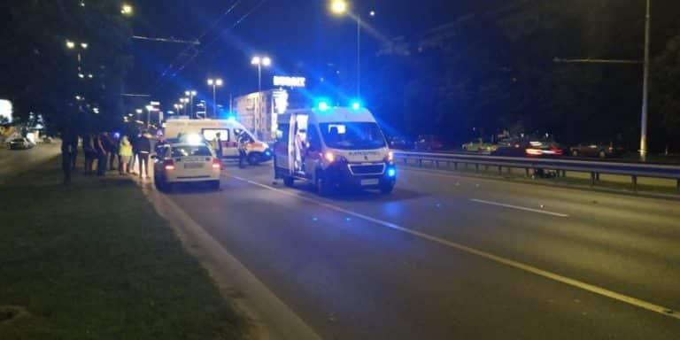 Катастрофа с мотористи на булевард в Пловдив!