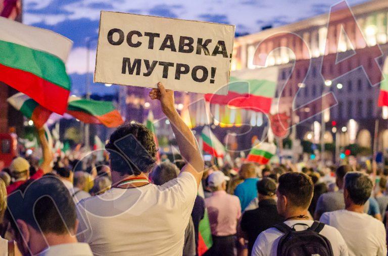 Ден 89 на протеста: Под знака на дебата в европарламента за България