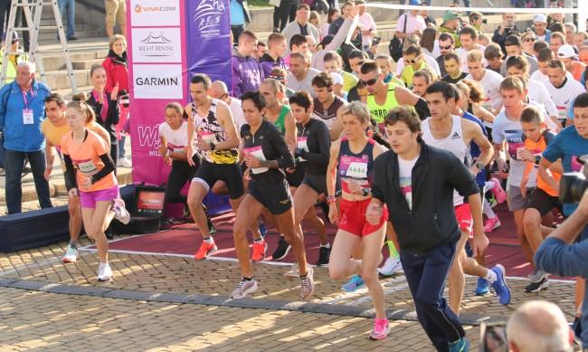Мъжът, блъснал атлетка на маратона в София, не го направил нарочно (ВИДЕО)