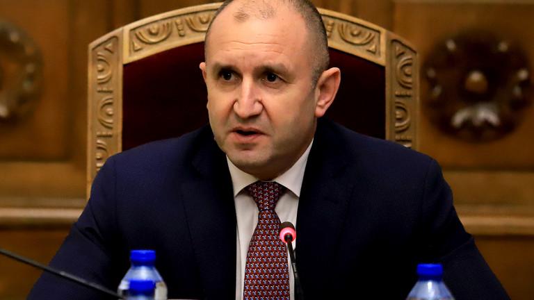 Румен Радев: Властта се опита да постави паметта ни под карантина, но хората са тук (ВИДЕО)