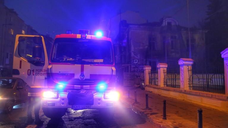 ИЗВЪНРЕДНО В NEWS24sofia.eu! Пожар в жилищен блок в София, има пострадал