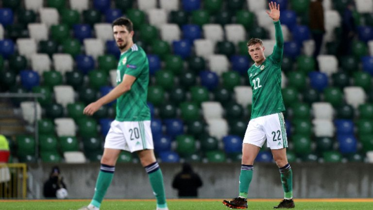 Северна Ирландия със загуба преди мача с България