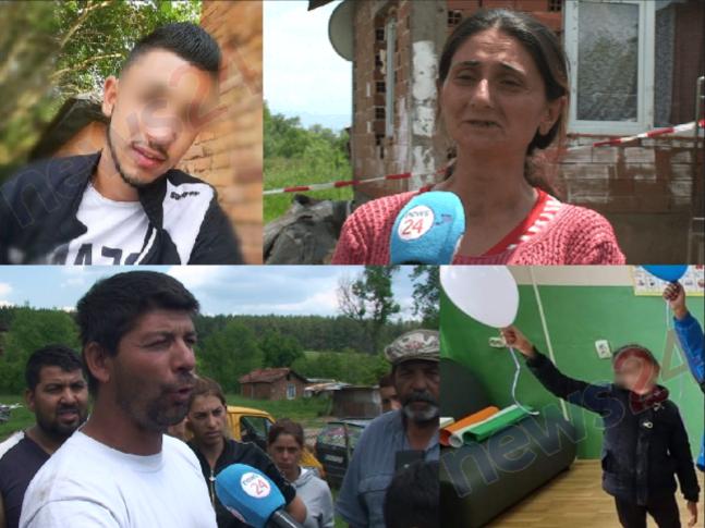 Ексклузивно в NEWS24sofia.eu! Страх и ужас сковава децата в село Ковачевци. Заплашват почерненото семейство! (СНИМКИ/ВИДЕО)