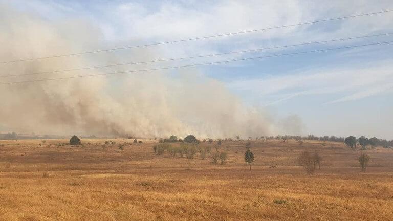 Пожар избухна в Пловдивско